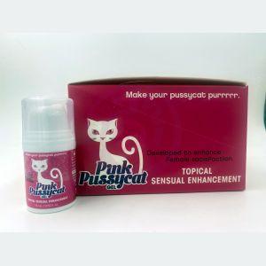Pink Pussycat Gel - 12 Count Display - Topical  Sensual Enhancement