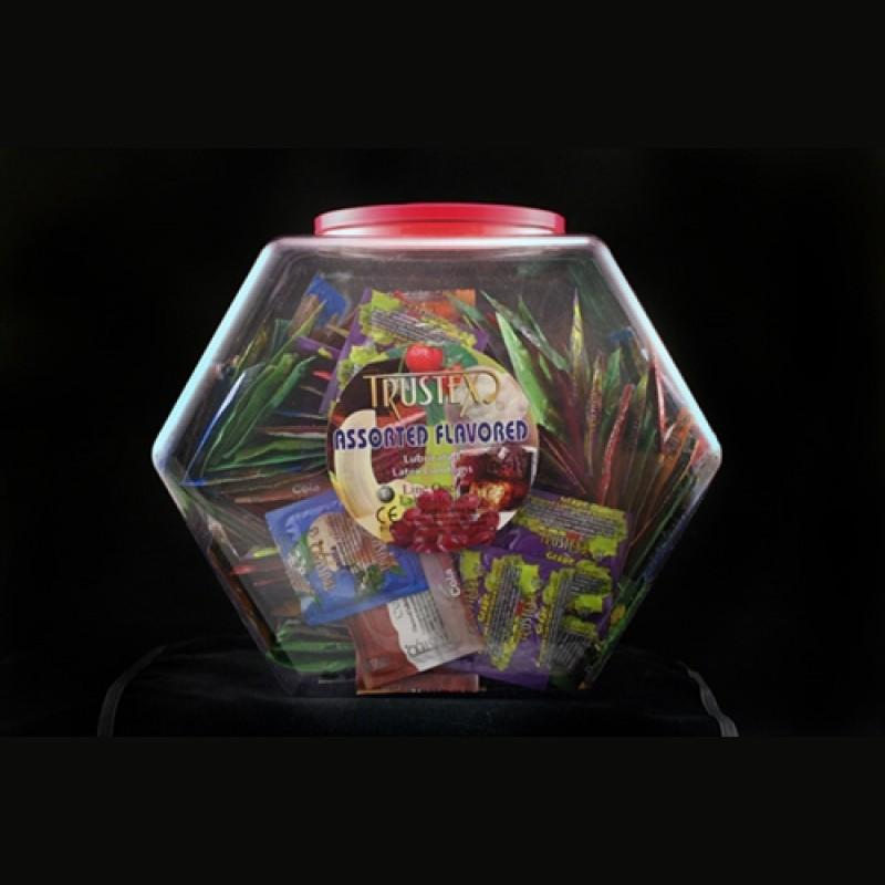 Trustex Assorted Flavors - 288 Piece Fishbowl