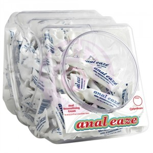 Anal Eaze 10 ml. 100 Count Fishbowl