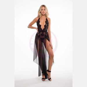 Freya Le Reve Nightdress - Black - L/xl