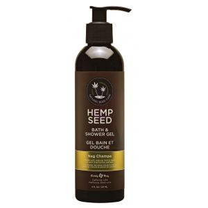 Hemp Seed Bath and Shower Gel - Nag Champa - 8 Oz./ 237 ml