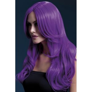 Khloe Wig - Neon Purple