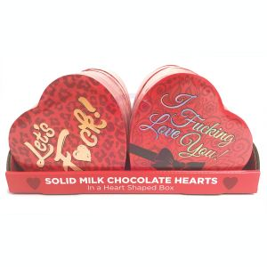 Heart Boxed Chocolates - 12 Box Display