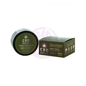Cbd Daily Triple Strength Intensive Cream 1.7 Fl Oz. 180mg