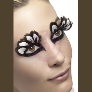 Feather Eyelashes - Brown