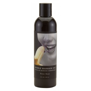 Edible Massage Oil 8 Oz. - Banana