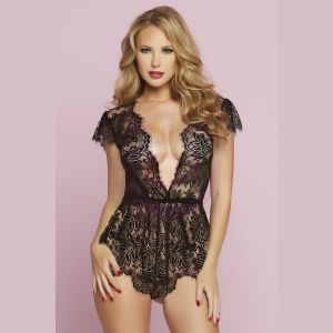 Temptation Romper - Medium - Black