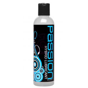 Passion Hybrid Water and Silicone Blind Lubricant - 8 Oz.