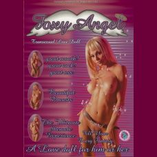 Foxy Angel Transexual Love Doll With Removable  Vibrating Cock