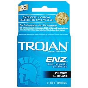 Trojan Enz Lubricated - 3 Pack