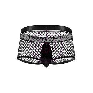 Cock Pit Net Mini Cock Ring Short - Medium Black