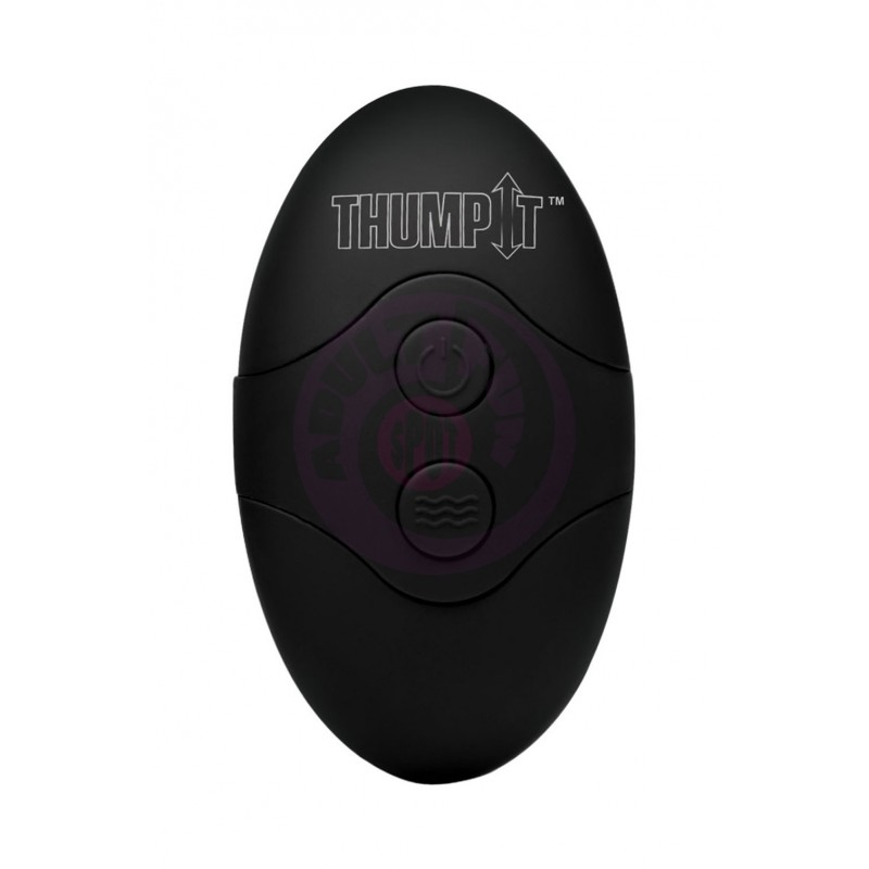7x Remote Control Thumping Dildo - Medium