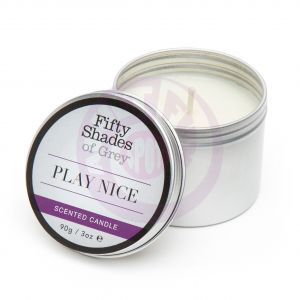 Fifty Shades of Grey Play Nice Vanilla Scented Candle