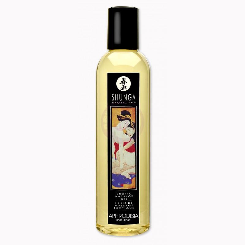 Erotic Massage Oil - Aphrodisia - Roses - 8.4 Fl.