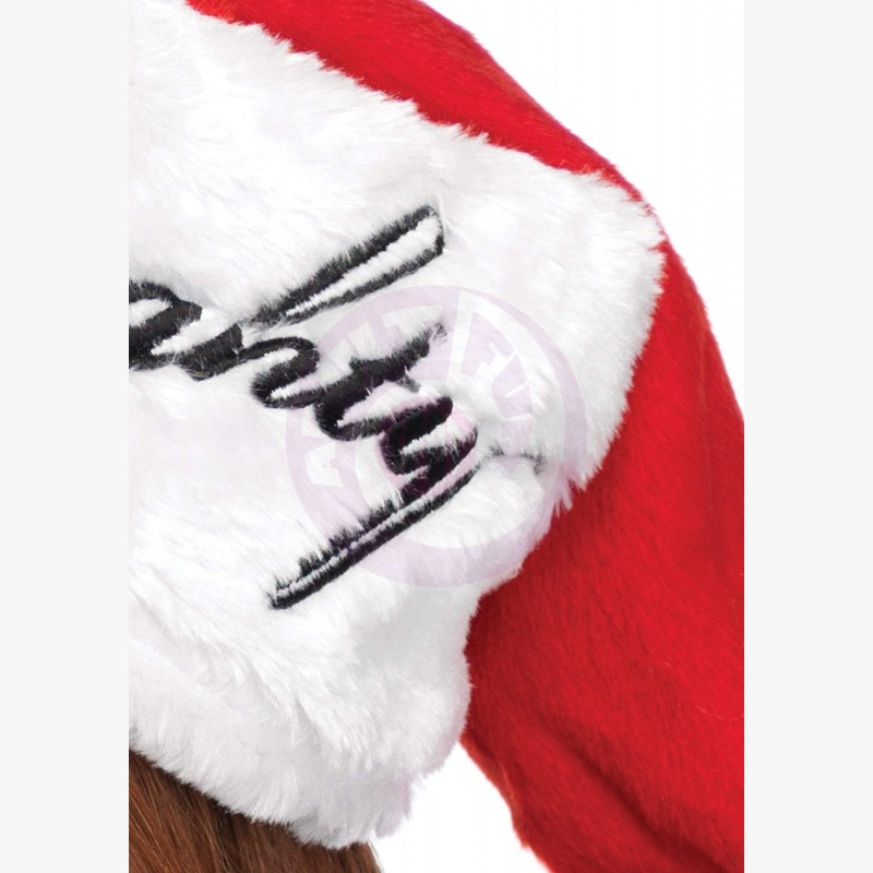 Reversible Plush Santa Hat