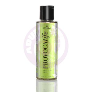 Provocatife Hemp Oil & Pheromone Infused Massage Oil - 4.2 Fl. Oz. / 125 ml