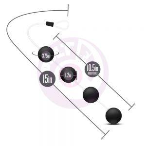 Anal Adventures - Pleasure Balls - Black
