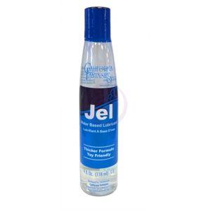 Jel - Water-Based Gel Lubricnat - 4 Oz. Bottle