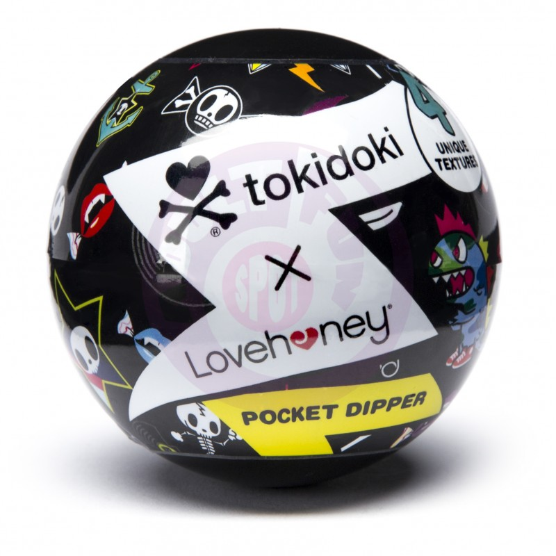 Tokidoki Textured Pleasure Cup - Solitaire Clear