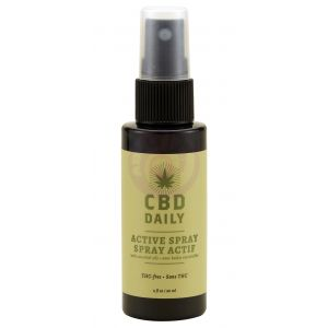 Cbd Daily Triple Strength Active Spray 2oz