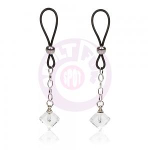 Nipple Play Non-Piercing Nipple Jewelry Crystal  Gem