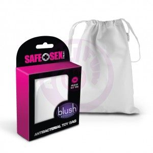 Safe Sex - Antibacterial Toy Bag - Small - 24 Piece Counter Display