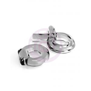 Classix Couples Cock Ring Set Clear