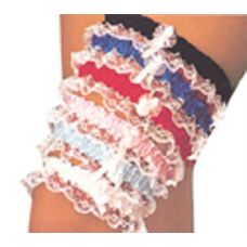 Assorted Lace Leg Garters Each