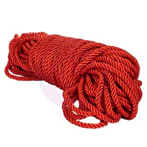 Scandal BDSM Rope 98.5ft/ 30m - Red