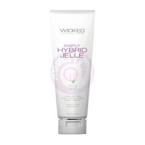 Simply Hybrid Jelle Fragrance Free Lube 4oz 120ml