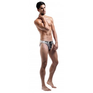 Molten Steel - Lace Up Jock - Large/ X-Large -  Steel Grey