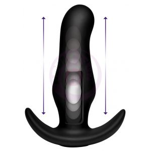 Thump It Curved Silicone Butt Plug