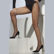 Lattice Net Tights - Black Fv-31330